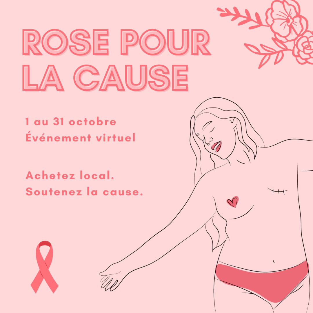 Illustration Rose pour la cause 2021